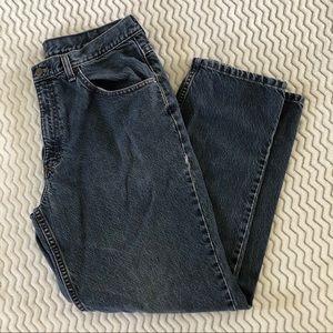 L.L. Bean Mens Vintage Jeans in Blue Sz 35x30